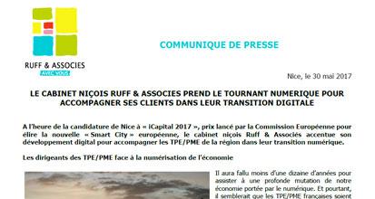 RUFF & ASSOCIES PREND LE TOURNANT NUMÉRIQUE